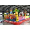 广州趣味气模定制气模闯关广州儿童沙池儿童玩的大气球拔河赛