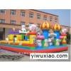 深圳楼盘小区销售活动充气迪士尼乐园充气儿童滑梯充气气垫攀岩