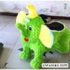 儿童电动玩具车,毛绒动物电瓶车,毛绒电动玩具车,郑州广源游乐