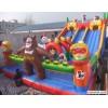 熊出没充气城堡,儿童乐园充气玩具,郑州游乐设备厂,充气蹦床